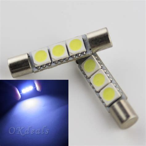aliexpress buy sale 2pcs white led car 3 smd