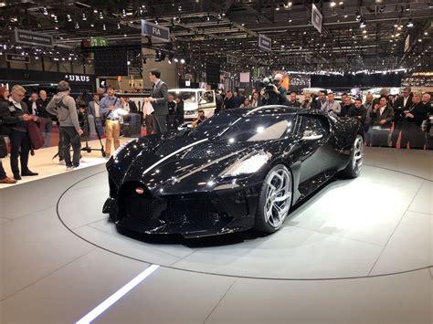 Bugatti La Voiture Noire Geneva Pictures Gallery And Quick