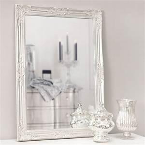 Miroir Fenetre Maison Du Monde : miroir en bois argent h 104 cm enzo maisons du monde ~ Teatrodelosmanantiales.com Idées de Décoration