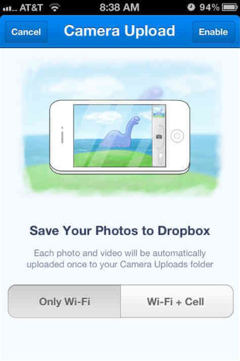 to upload photos from iphone to dropbox a solution to upload iphone photos to pc