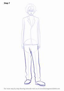 Learn How To Draw Nagisa Hazuki From Free   Free   Step By Step   Drawing Tutorials
