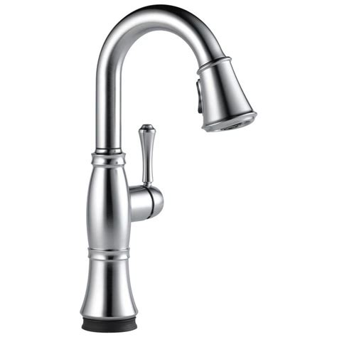 Faucet Touch by Shop Delta Cassidy Touch Arctic Stainless 1 Handle Bar