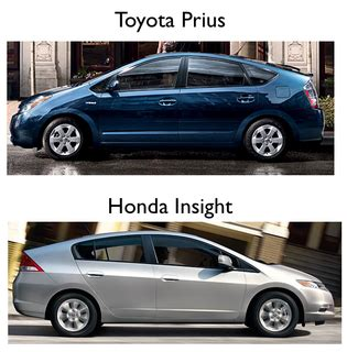 Honda Insight Vs Toyota Prius