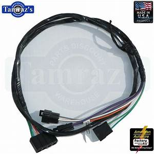 68 Chevelle Console Wiring Extension Harness With
