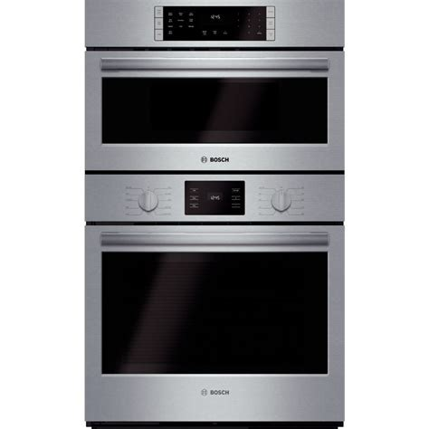 """Bosch HBL5751UC 500 Series 30"""" Combination Double Oven"""