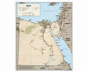 Maps of Egypt | Detailed map of Egypt in English | Tourist ...