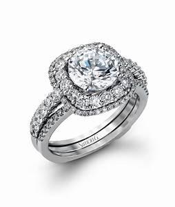 mr2434 simon g engagement ring set semi mount j lewis With wedding ring mounting sets