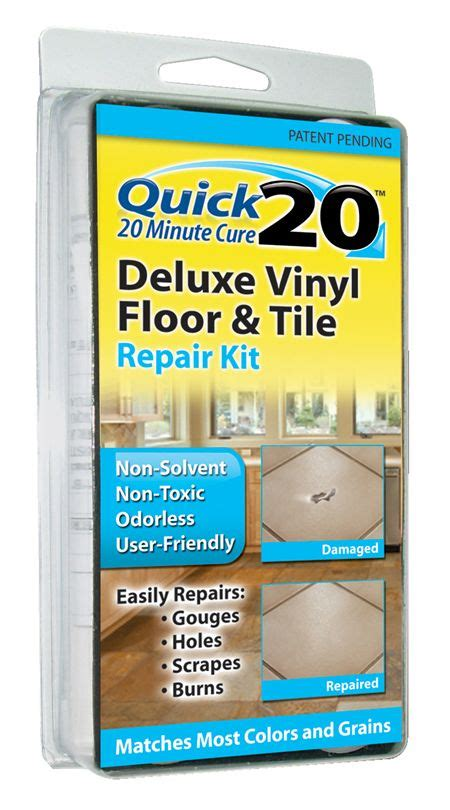 tile flooring repair kit vinyl floor and tile repair kit leather and vinyl repair invisible repair products inc