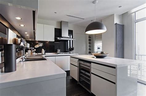 modern apartment kitchen designs luxury home in istanbul traditional style meets contemporary 7574