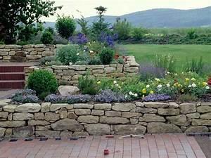 Steinmauer Garten Bilder : die besten 25 steinmauer garten ideen auf pinterest steinwand garten steingarten mauern und ~ Bigdaddyawards.com Haus und Dekorationen