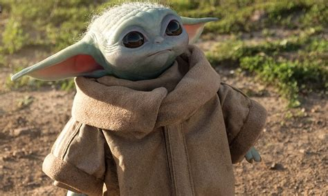 Baby Yoda Life-Size Figure on Sale for $350