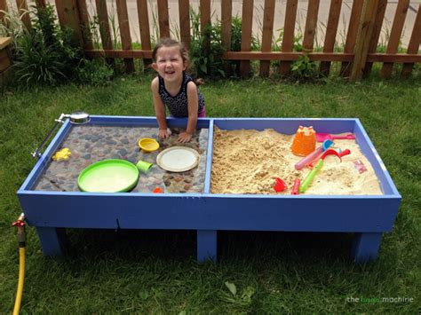 play day sand and water activity table sand and water tables kids love backyard play spaces