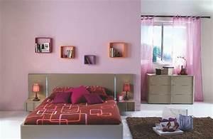 une deco de chambre en rose et taupe With chambre rose et taupe
