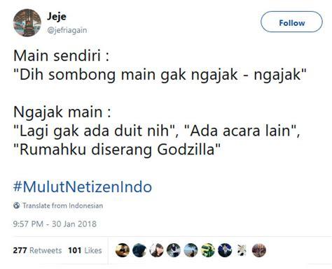 komen kocak  twitter sindir mulut netizen indo