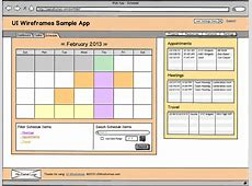 Calendar Application Moodboard and References – KCimgd