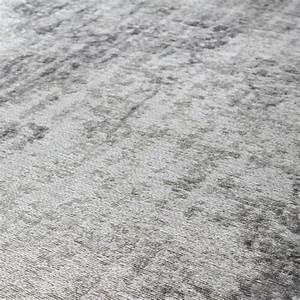 Tapis a poils courts ecru et gris 160 x 230 cm villandry for Tapis gris poil court