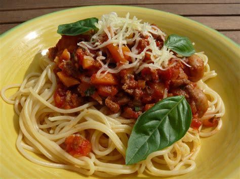 calories pates bolognaise restaurant recette spaghetti 224 la bolognaise