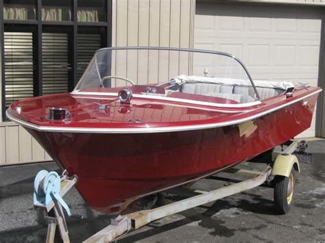 Slick Aluminum Boat Paint by 172 Best Vintage Runabouts Images On