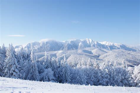 Winter Mountain Landscape Wallpaper  3872x2592 605824