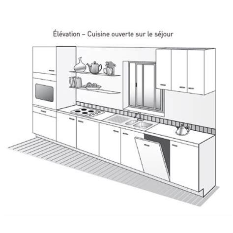 plans de cuisine ouverte plan de cuisine maison