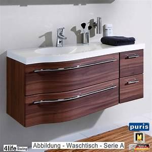 Waschtisch Set 120 Cm : puris 4life swing badm bel als waschtisch set 120 cm serie a oder b evermite rechts ~ Bigdaddyawards.com Haus und Dekorationen
