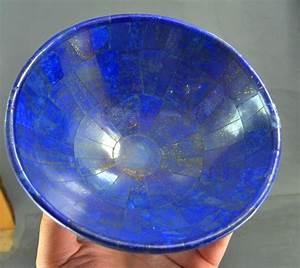 Royal Blue Lapis Lazuli : fine royal blue lapis lazuli bowl 154mm 490gm catawiki ~ Markanthonyermac.com Haus und Dekorationen