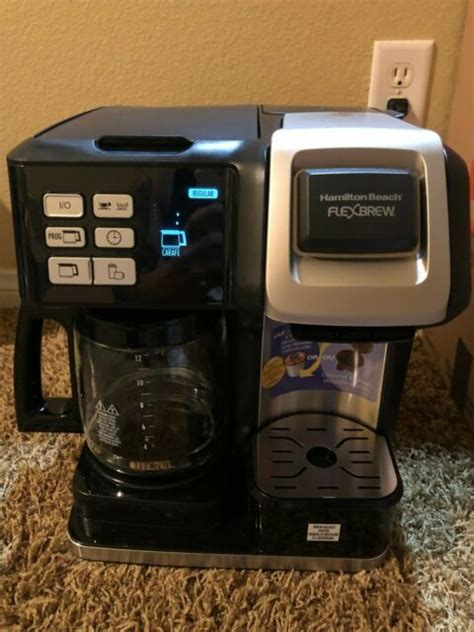 Parts & accessories keep your hamilton beach products working efficiently with our replacement parts and accessories. Hamilton Beach FlexBrew 12-Cup Coffee Maker Black 49976 | eBay