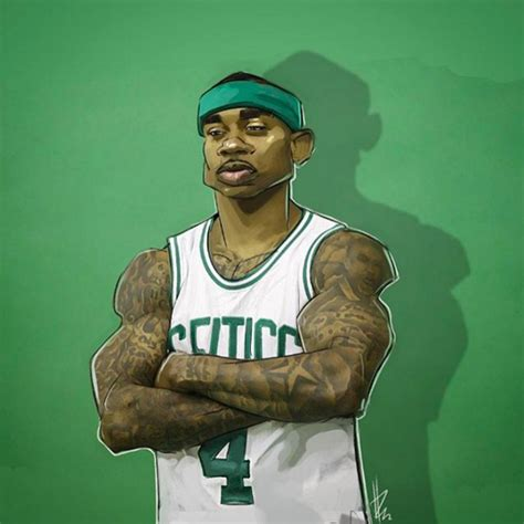 Isaiah Thomas Celtics General Illustration  Hooped Up