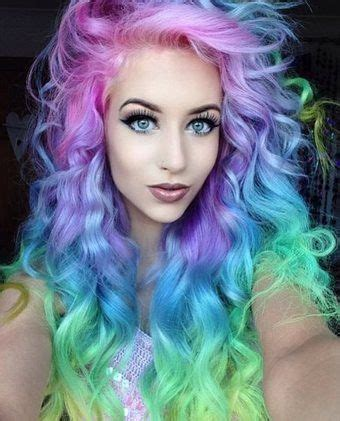 funky hair color ideas 25 best ideas about funky hair colors on