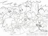 Hillbilly Bears Owsley Patrick Cartoon Pencil Pm Posted sketch template