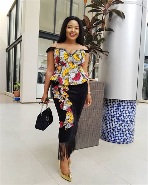 hot blouse style 2018 ankara skirt and blouse styles stunningly cute