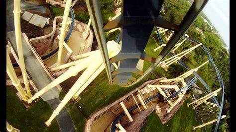 montu pov busch gardens tampa roller coaster bm invert