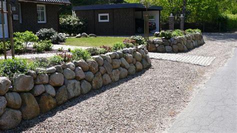u steine garten steinmauer als blickfang und sichtschutz im garten 40 ideen