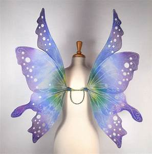 Exclusive listing for Midnightglow18 Fairy Wings in Blue and
