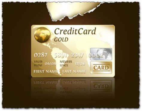 photoshop credit cards templates