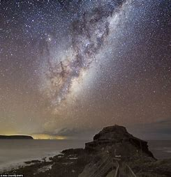 Night Sky Milky Way Galaxy
