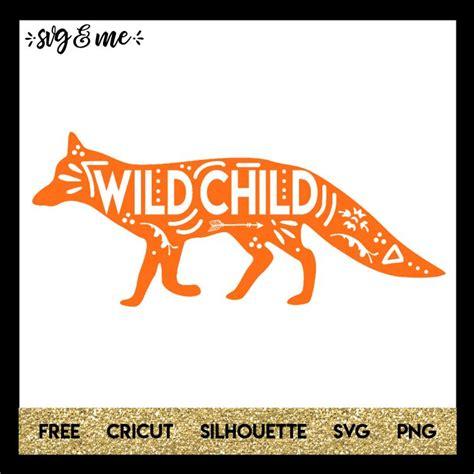 Fox cartoon couple anthropomorphized planner hearts love romance cute stickers romantic animals. Boho Wild Child Fox - SVG & Me