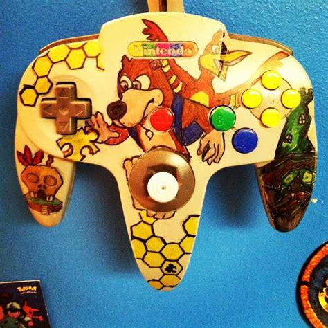 Banjokazooie N64 Controller My Artwork Pinterest