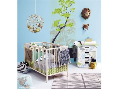 chambre bebe nature style déco chambre bébé nature