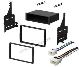 complete radio stereo install dash kit wiring harness for 05 06 nissan altima ebay