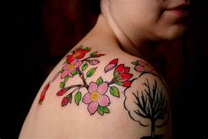 Tattoo Styles For Men and Women: Cherry Blossom Tattoos ...