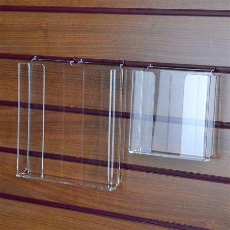 Slatwall Open Front Leaflet Dispenser The Display Centre
