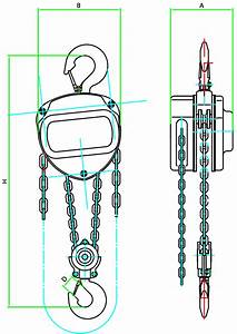 Tyler Tool Chain Hoists And Chain Falls  1  2 Ton To 5 Ton