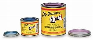 1 shot lettering enamels blick art materials With sign painters lettering enamel