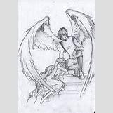 Fallen Angel Drawings | 600 x 872 jpeg 121kB