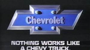 » 1985 Chevrolet Truck Commercial – Nothing Works Like a