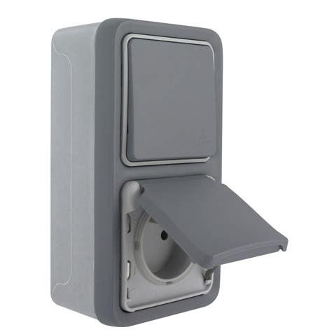 prise et interrupteur prise 2p t et interrupteur legrand plexo gris vertical de prise 233 lectrique