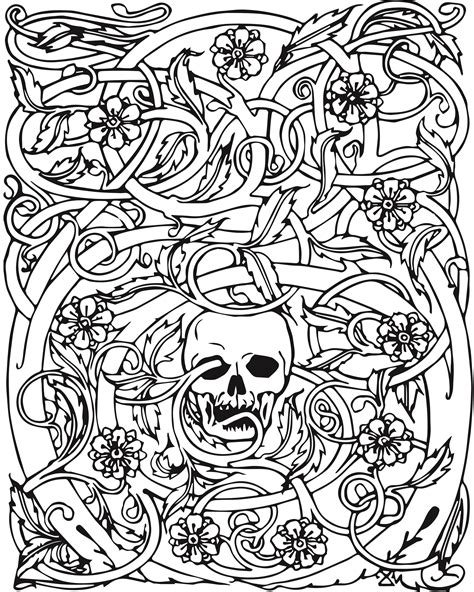 abstract  adults coloring pages coloring home