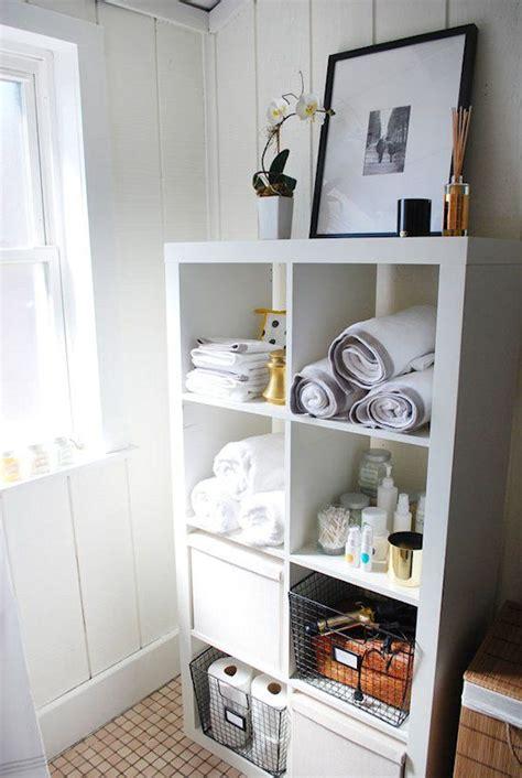 bathroom storage ideas ikea expedit salle de bains salle de bains pinterest wire baskets basement bathroom and