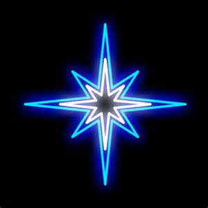 cool white and blue brilliant brand led star lighted motif 31 5 inches x 31 5 inches birddog